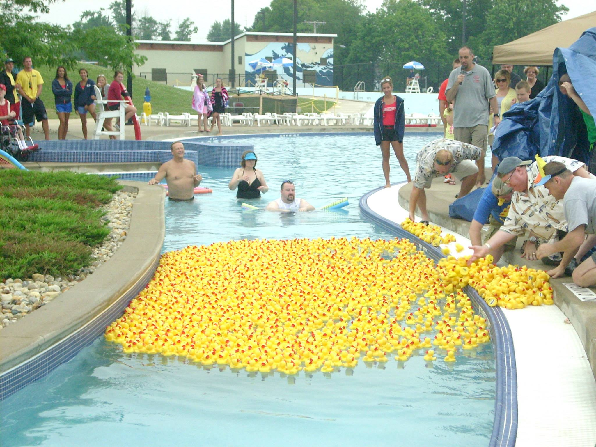 The Eighth Annual Carey Services Duck Race Created Quite A Splash, Raising  The Most Money Ever And Also Being The First Year It Sold Out 2,500 Tickets.
