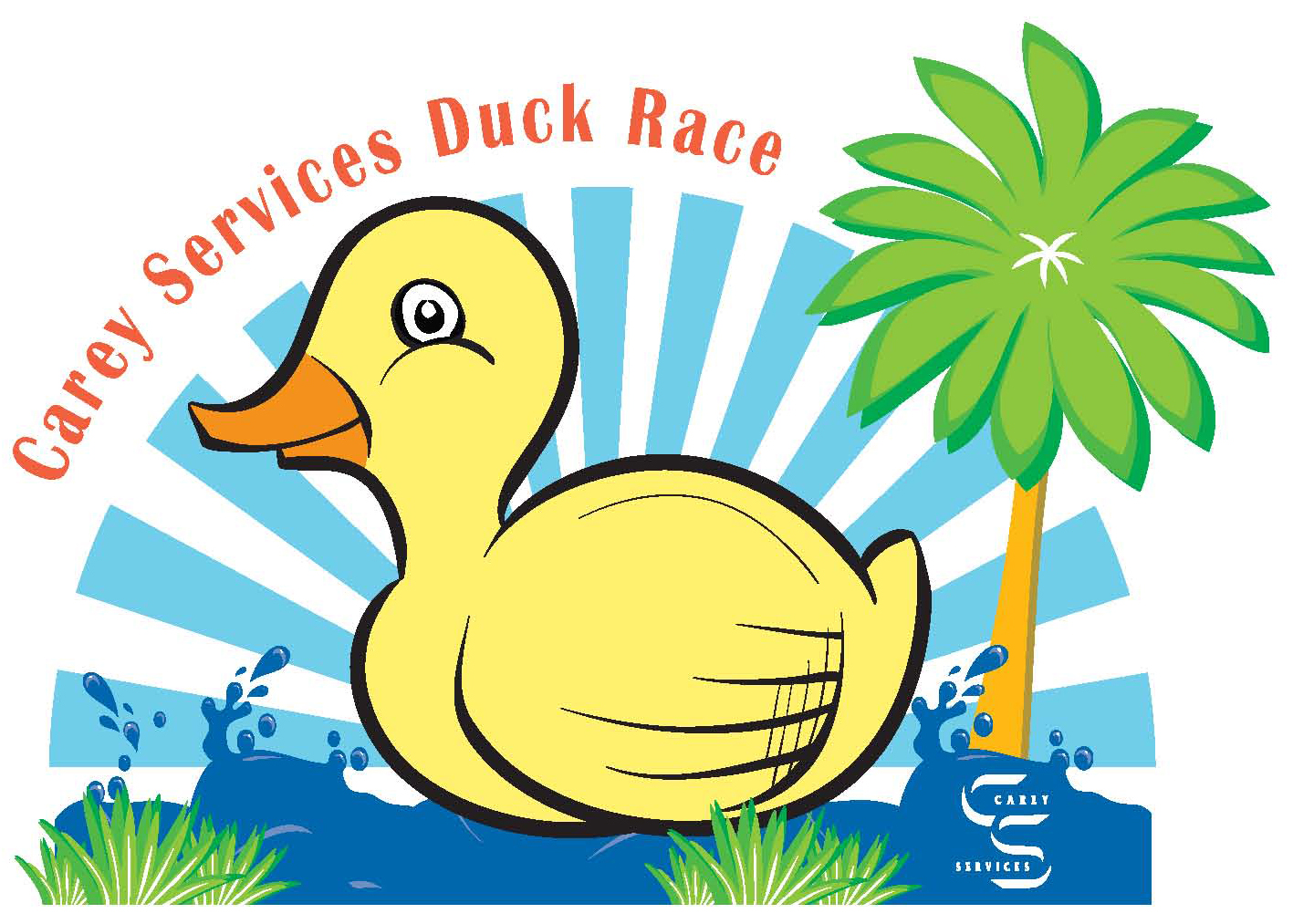 Duck Race Logo