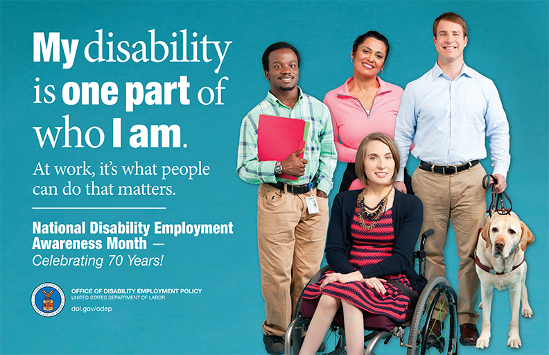 My disability is one part of who I am.