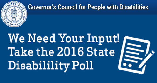 2016 Disability Poll Artwork